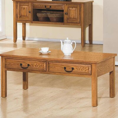 Schueller Coffee Table Finish: Light Oak