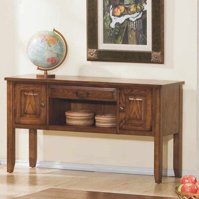 Schueller Console Table Finish: Medium Oak