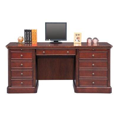 Spielman Executive Desk Size: 30.5 H x 68 W x 24 D