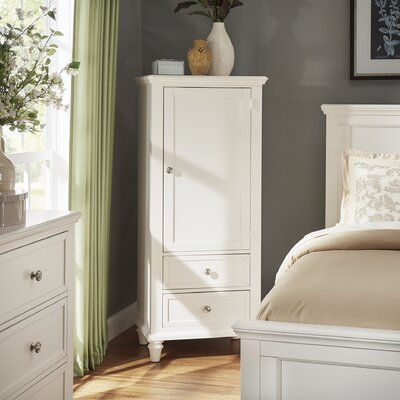 Isabella Armoire Color: White