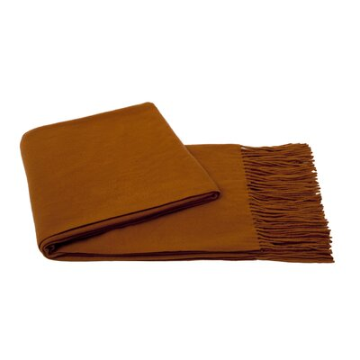 Dickson Wool Throw Color: Toffee