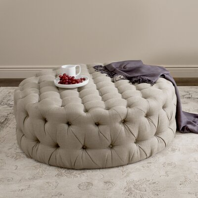 Wyard Cocktail Ottoman Upholstery: Beige
