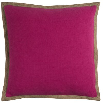 Ailith Pillow Cover Color: Hot Pink