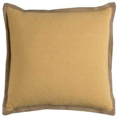 Ailith Pillow Cover Color: Yellow