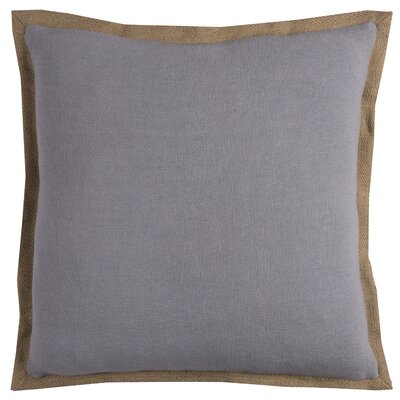 Ailith Pillow Cover Color: Light Gray