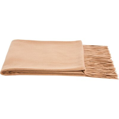 Dickson Wool Throw Color: Camel