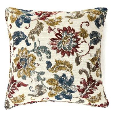 Pisek Floral Print Throw Pillow Size: Large