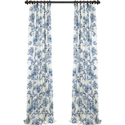 Havana Blackout Thermal Single Curtain Panel