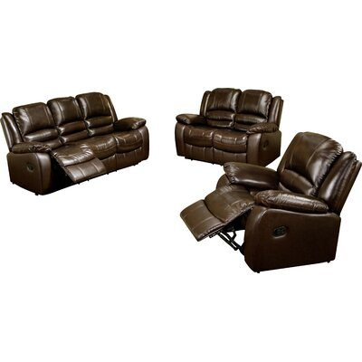 Darby Home Co DBHC6244 27711848 Jorgensen Reclining Sofa and Chair Set