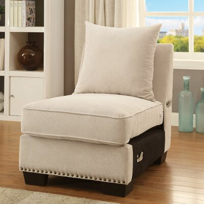 Sorensen Nailhead Trim Slipper Chair