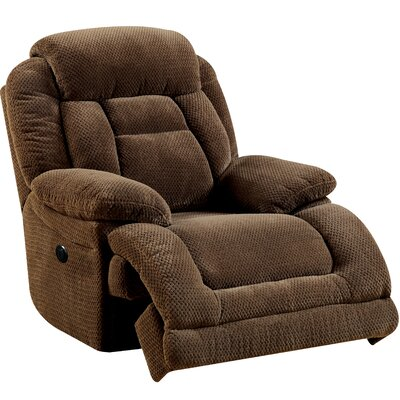 Lammers Reclining Chair Type: Power