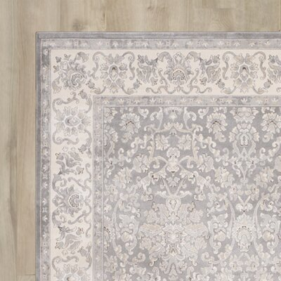 Setser Silver/Ivory Area Rug