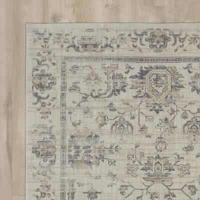 Kinsley Beige Area Rug Rug Size: Rectangle 8 x 10
