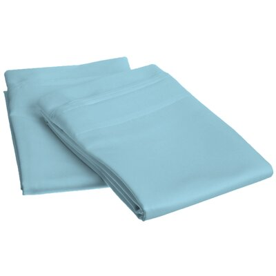 Amherst Pillowcase Size: Standard, Color: Light Blue