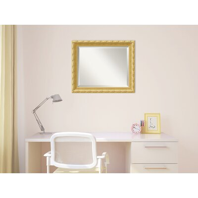 Roseland Rectangle Wall Mirror Size: 19.84'' H x 23.84'' W