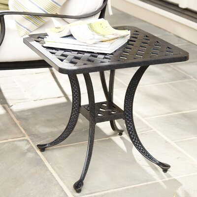 Preston Weave Square Side Table