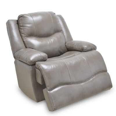 Carlinville Leather Rocker Recliner