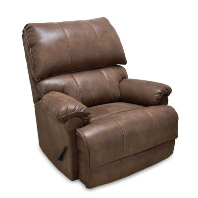 Emington Manual Rocker Recliner Color: Taupe