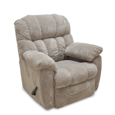 Patricia Rocker Recliner Color: Taupe