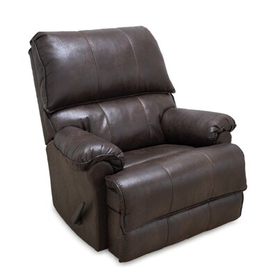Emington Rocker Recliner Color: Mocha