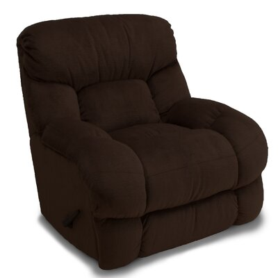 Lemont Manual Rocker Recliner Color: Chocolate