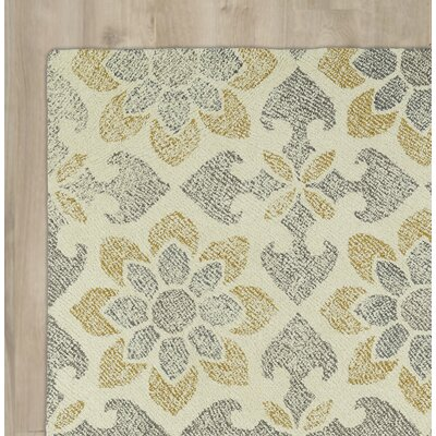 Rosalind Hand-Tufted Gray/Yellow Area Rug