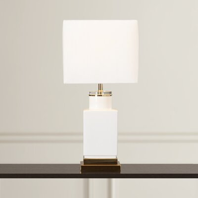 Stroupe Small Cube 21 Table Lamp