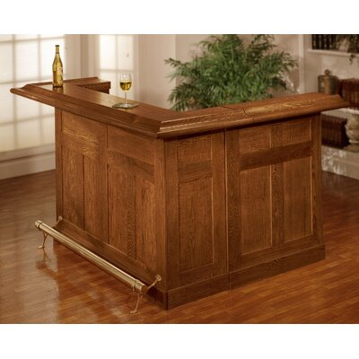 Potomac Bar with Wine Storage