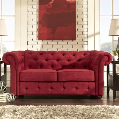 Darby Home Co DRBC2704 31457299 Conners Tufted Loveseat Upholstery