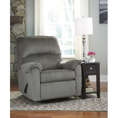 Lindemann Manual Rocker Recliner Upholstery: Alloy