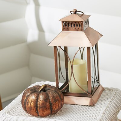 Chiaramonte Outdoor Hanging Lantern Finish: Copper