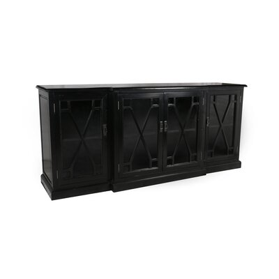 Lyndale 4 Door Sideboard Finish: Black