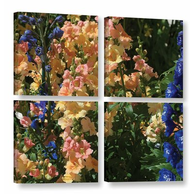 "Vibrance 4 Piece Photographic Print on Wrapped Canvas Set Size: 48"" H x 48"" W x 2"" D DRBC2993 31559142"