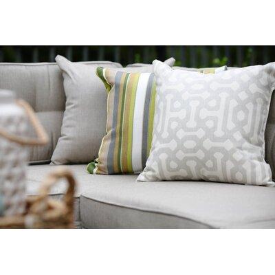 Annabelle Outdoor Throw Pillow Color: Cast Ash