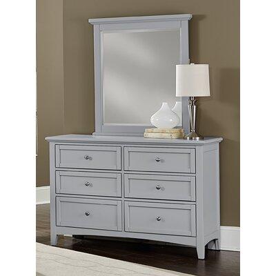 Blakney 6 Drawer Dresser with Mirror