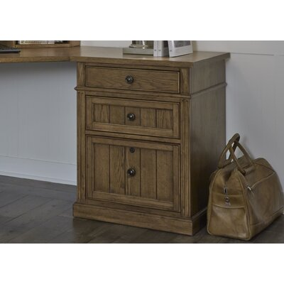 Applebaum 3 Drawer File Cabinet