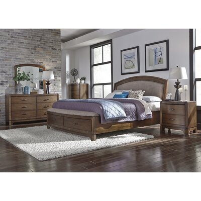 Aranson Upholstered Platform Bed