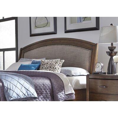 Aranson Upholstered Sleigh Headboard Size: Queen