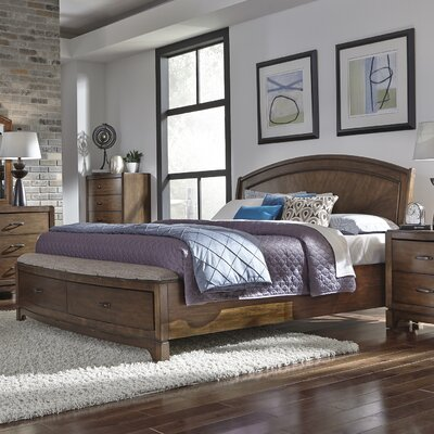 Aranson Upholstered Panel Bed