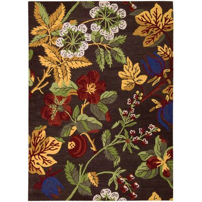 Ardaghmore Hand-Tufted Gold/Green Area Rug