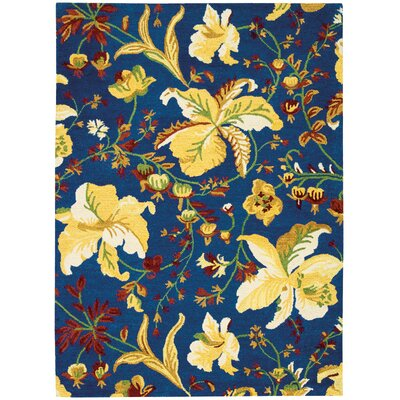 Jonah Hand-Tufted Blue/Yellow Area Rug