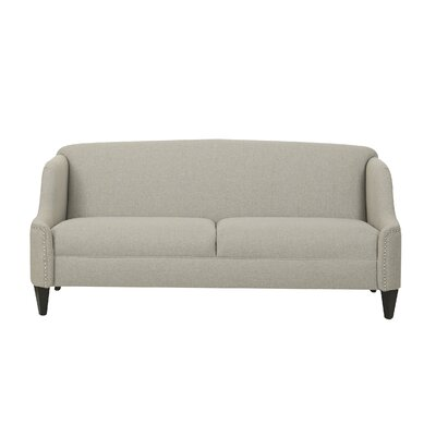 Ariadne Unique Curved Sofa Color: Taupe
