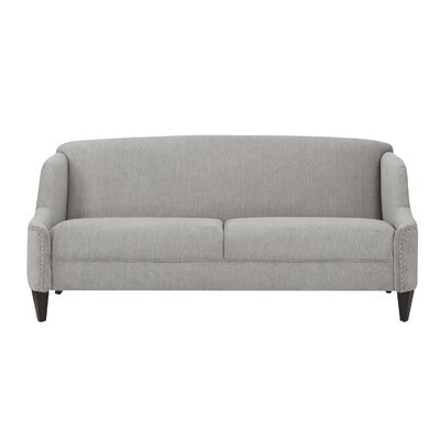 Ariadne Unique Curved Sofa Color: Silver Grey
