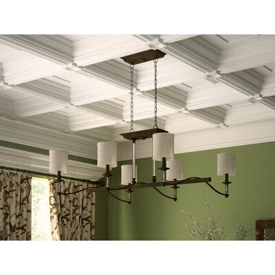 Middlebrooks 6-Light Shaded Chandelier