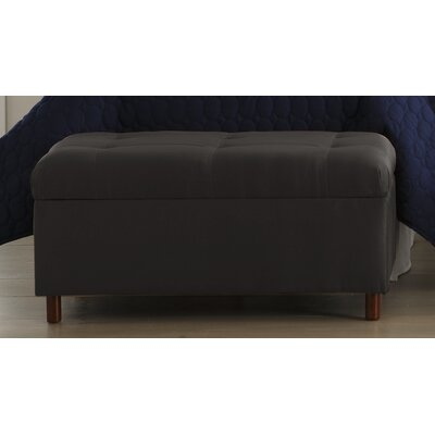 Storage Ottoman Color: Black
