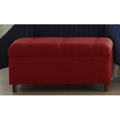 Storage Ottoman Color: Red