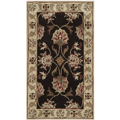 Arnault Hand-Made Brown/Beige Area Rug Rug Size: Runner 23 x 9