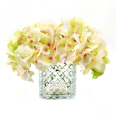 Soft Cream/Green Hydrangea Bouquet