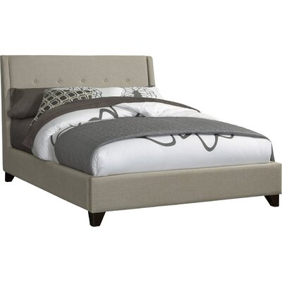 Argo Upholstered Platform Bed Size: Queen