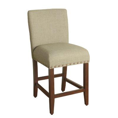Arlene 24 Bar Stool Upholstery: Sand